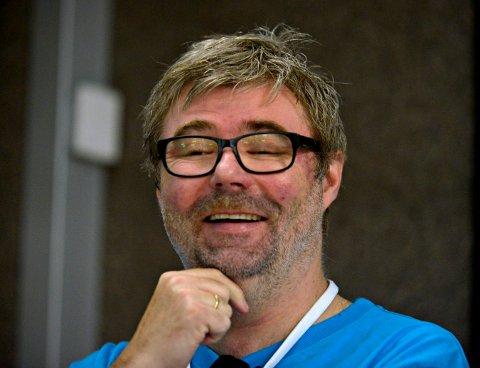 KJEMPEFORNØYD: Festivalsjef Kai Gustavsen kan velge og vrake i kandidater til stillingen som markedsansvarlig.