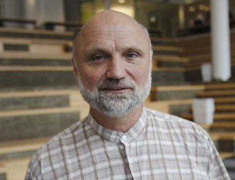 Søker: Hallstein Rosnes er én av søkerne til rektorstillingen. Foto: terje holm