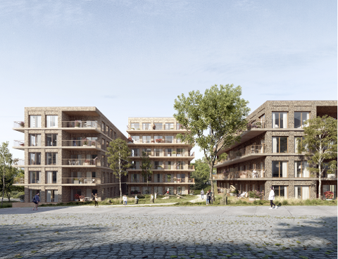 Godhavn utbygging AS mener næringslokaler i 1. og 2. etasje vil kunne være en god løsning på støyproblematikk i området.
