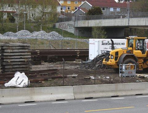 KOBBERTYVERI: Flere hundre kilo kobberkabler ble stjålet her på Bøler. Foto: Arne Vidar Jenssen