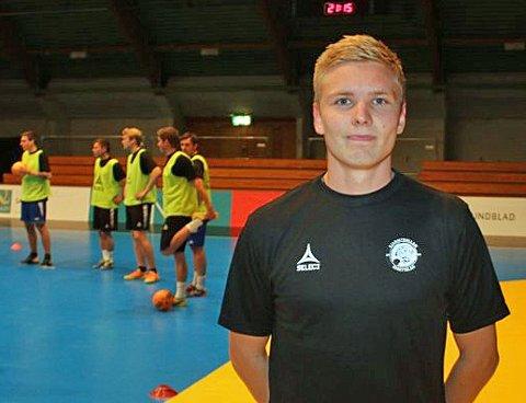 FUTSAL-TALENT: Tobias Schjetne fra Tromsø, som til daglig spiller fotball i Fløya og futsal i Sjarmtrollan.