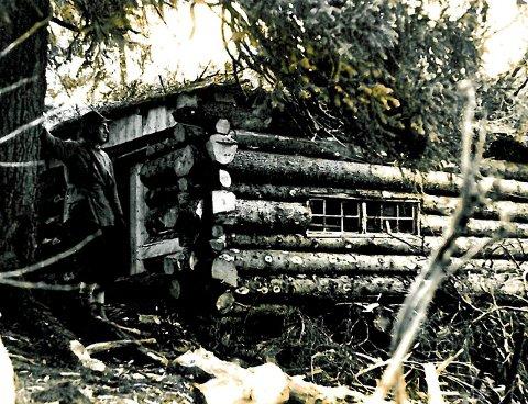 TURMÅL: Hjemmefronthytta, fotografert i 1944.