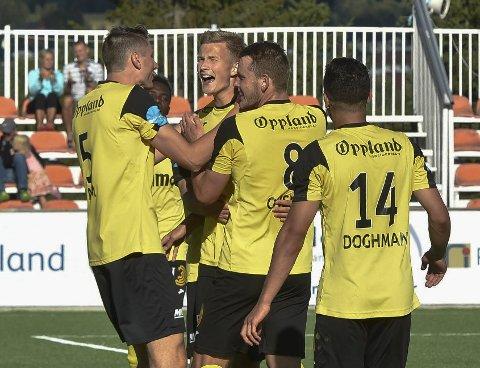 Glad debutant: Mathias Flo fikk en perfekt debut med scoring på overtid.