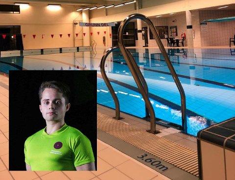 GLEDER SEG: Hans Christian Endrerud gleder seg til å kunne ta imot svømmere til folkebading igjen, etter halvannet år  med pause.