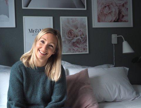 HEIER PÅ KROPP: Christina Sandnes Kihlman håper innlegget hennes minner alle på at man er god nok som man er.