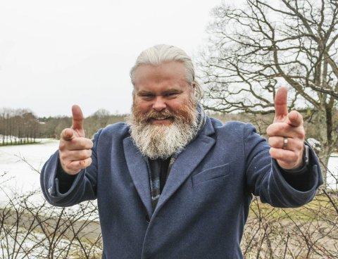 FÅR STØTTE: Etter stemmefadesen under MGP-finalen, forteller Rein Alexander at han har fått mye støtte både fra lokalbefolkningen på Tjøme og fra landet over.