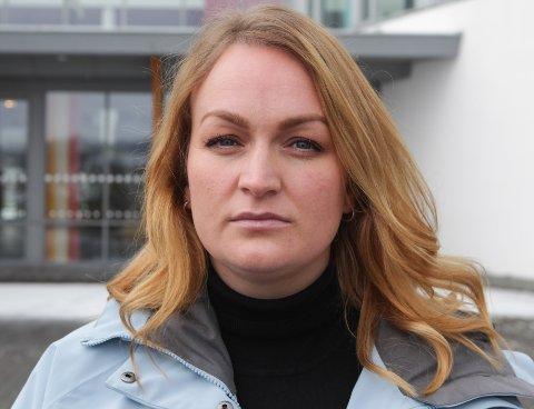 Studentrepresentant for 2018-kullet, Kathrine Øines Dishington Johnsen.