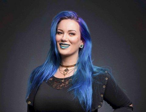 KJENT TATOVØR: Christina Colour Andersen har kanskje tatovert deg? Foto: Privat