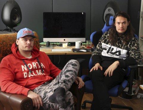 Lars Berge og Benjamin Dan Ravn Fahre utgjør duoen Future Duper.