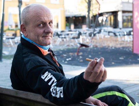 FORNØYD: Asle Nyhus er overbevist om at hypnose hjalp ham med å kutte røyken.