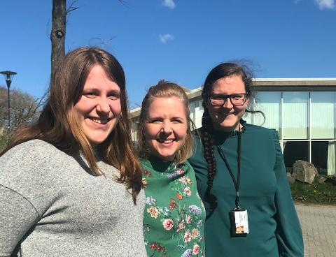 Trine Gausland og Trine Gulsrud i virksomhet fritid, samt Ann Therese Madland ved Sola voksenopplæring inviterte Sola-familier på sommerferie til fjells. Det ble en suksess.