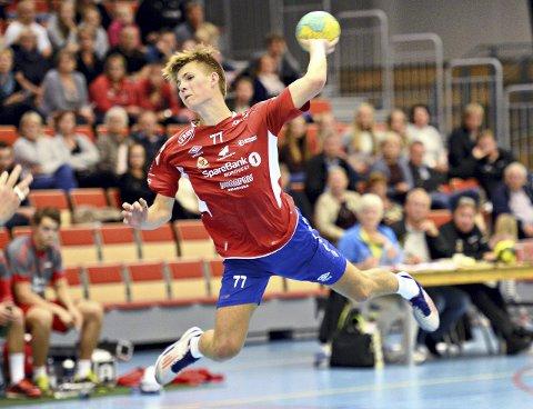 16 år gamle Jonas Haugsgjerd scoret to mål.