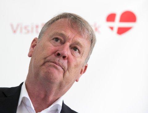 Danmarks landslagssjef Åge Hareide med uttalelser franskmennene ikke liker.