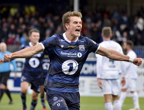 Kristoffer Hoven ble ingen suksess i KBK-drakta, og fikk lite spilletid da han kom i 2019-sesongen. Nå kan han være på vei til FC Astana.
