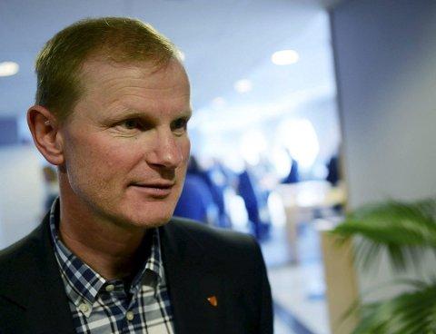 ANKER IKKE: Ordfører Erlend Larsen og resten av formannskapet i Stokke bestemte torsdag å ikke anke dommen i festeavgiftsaken.