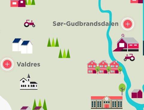 Fleire får fiber: Hedmark ligg langt føre Oppland når det gjeld fibertilknyting. I 2018 er det planlagt tilknyting til 4.084 husstandar i Hedmark mot 3.312 i Oppland. *** Local Caption *** Fiber Breiband