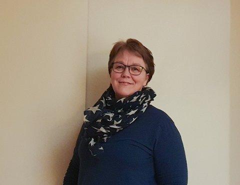 ENHETSLEDER VED MOER SYKEHJEM: Enhetsleder Gro Svendstad forteller om et godt teamarbeid ved Moer sykehjem under pandemien.