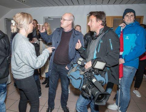 TV2 intervjuer ordfører og arrangøren