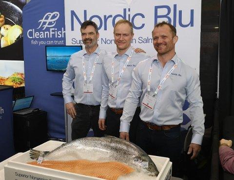 Lokalt produkt: Lederne Roger Øksheim og Geir Wenberg står i spissen for at deres produkt nå skal selges hos eksklusiv kjede i USA.