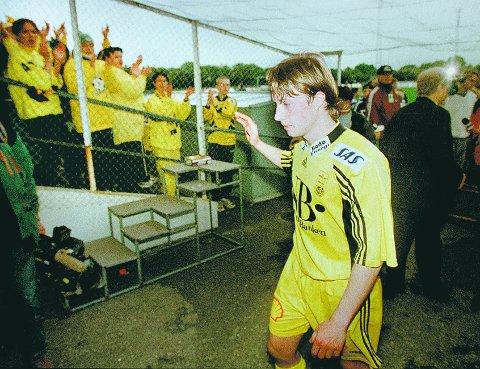 Arild Berg på Aspmyra i 1998.