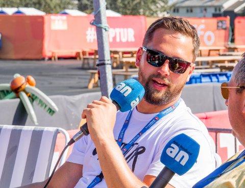 Festivalsjef Ørjan Strand bekymrer seg ikke over millionunderskudd.