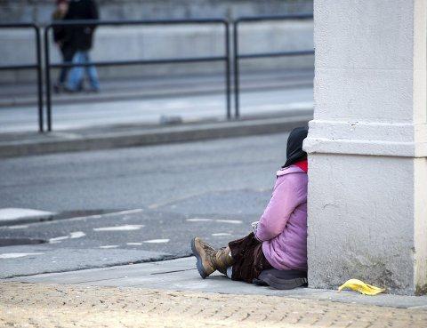 Bergen kommune har kartlagt et antall av de fattige rumenerne som bor i byen, og som livnærer seg blant annet ved å tigge. Ifølge spesialrådgiver i kommunen Marit Grung er det lite å hente på å tigge i Bergen nå for tiden.