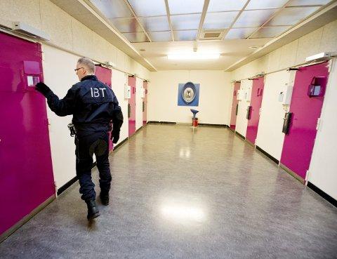 Slik ser det ut i fengselet Norgerhaven i Nederland, hvor norske myndigheter leier over 200 fengselsplasser for langtidsfanger. Foto: Håkon Mosvold Larsen / NTB scanpix
