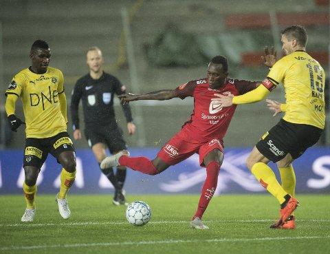 Daouda Bamba var ikke akkurat positiv da han ble tatt av banen mot Lillestrøm. Dagen etter unnskyldte han seg foran lagkameratene.
