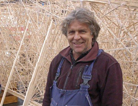 Arkitekt og professor på insittutt for design, Petter Bergerud.