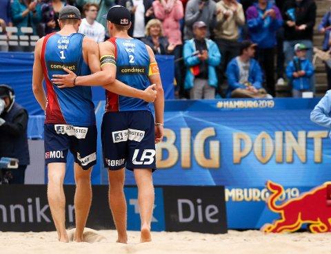 Anders Mol and Christian Sørum så lenge uslåelige ut i VM. I semifinalen sa det stopp.