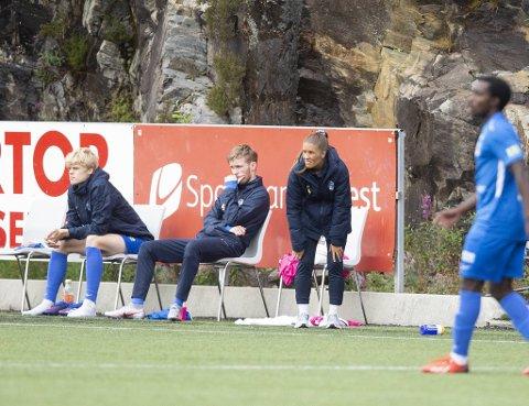 Renate Blindheim måtte se laget sitt tape borte mot Fløy. Etter en fantastisk start på sesongen, har blåtrøyene fått det tyngre den siste tiden.