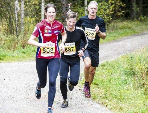 Nummer to: Marit Kahrs fra Fredrikstad Skiklubb ble nummer to av kvinnene.