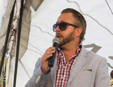 FIKK SVAR: Alexander Hermansen la ut en lenke med flygel meninger på Facebook.Foto: Thomas H. Arntsen