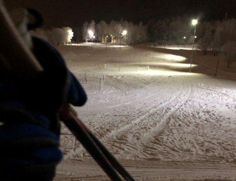 Drøbak: Ved Drøbak Golfbane er det flotte forhold - 3,3 kilometer skiløype er kjørt opp.