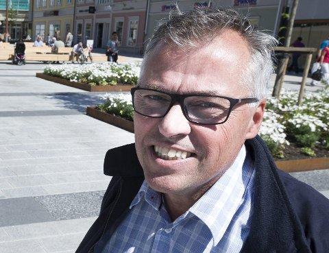 En gledesstrålende Kjell Arne Græsdal i Fredrikstad Næringsforening gleder seg til å følge Unite Global i tiden som kommer. - Vi kan bare ønske lykke til, sier lederen i Fredrikstad Næringsforening.