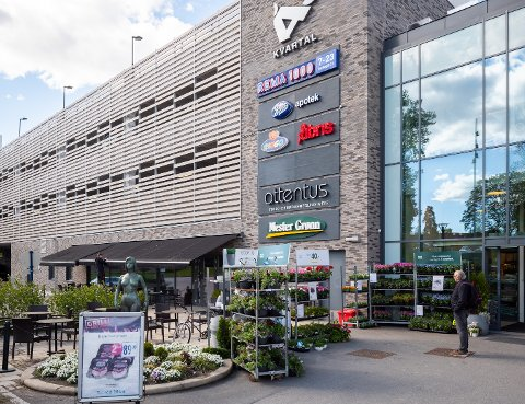Investerer i Ås kommune: Fredriksborg Eiendomkhar kjøpt Ås Kvartal i Ås sentrum og overtar 1. februar.