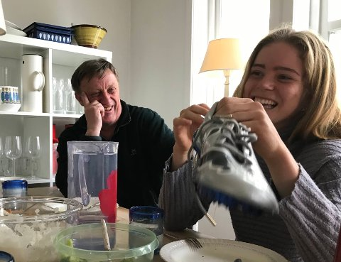 Henriette Jæger har sitt andre hjem på Begby, hvor hun bor hjemme hos Jens Petter Wold og familien.