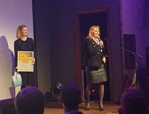 LEDER: Sølvi Øgsnes ble kåret til Årets lederkvinne