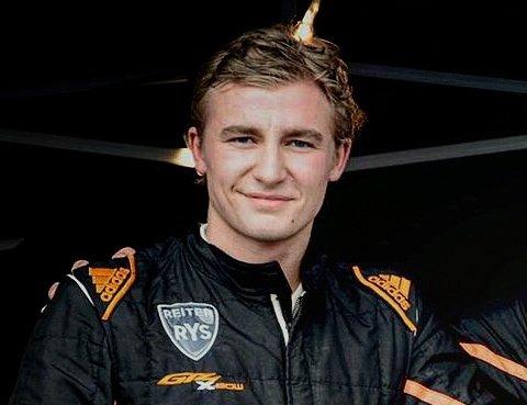 FORNØYD: Mads Emil Siljehaug er svært godt fornøyd med femårs-kontrakten han har fått med Reiter-teamet.