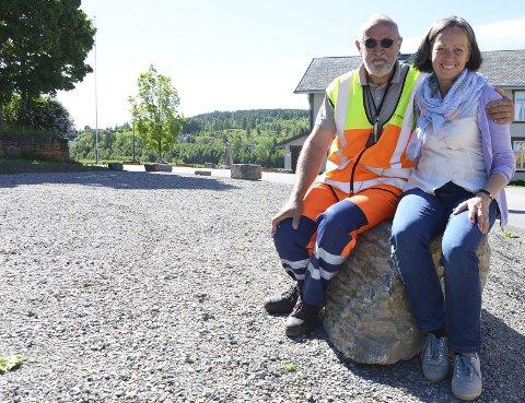 GRANAVOLLEN: Jan Arild Lien og Kari Møyner har jobbet mye med endringene som har skjedd, og skjer, på Granavollen.