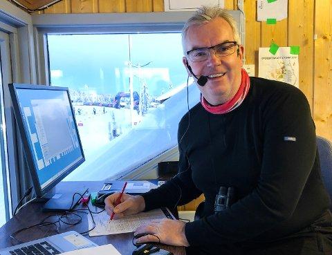 SPEAKER: Trond Øverlier er fast speaker på Lygna.