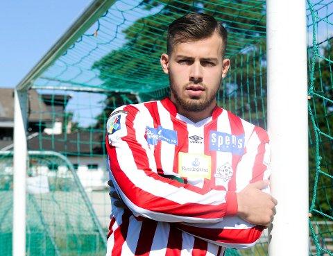 BYTTER KLUBB: Den tidligere Kvik-spilleren Ardijon Berbatovci skal spille for Fredrikshald Prishtina denne sesongen.