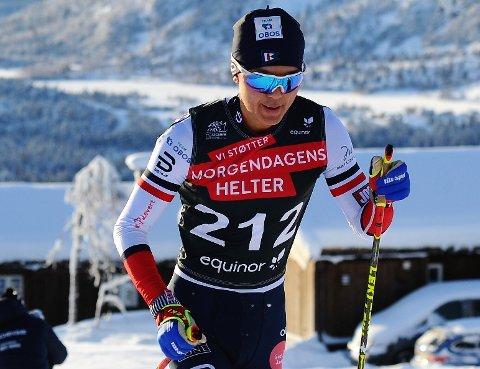 AMBSJONER: Petter Stokkeland har ambisjoner om å gå fort i vinter og håper å markere seg allerede i sesongåpningen på Beitostølen.