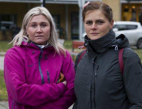 Ønsker full stilling: Mona Høyland og Katrine Orrestad jobbar begge deltid.