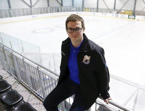 STOLT: Haugesund Seagulls-trener Christoffer Ruud.