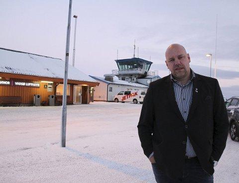 HÅPER PÅ NETTVERKSHJELP: Hans-Jacob Bønå har ved flere anledninger snakket varmt om sitt nettverk til toppene i Høyre. Nå håper han dette nettverket kan være drahjelp til å bli hørt i flyseteavgiftssaken.