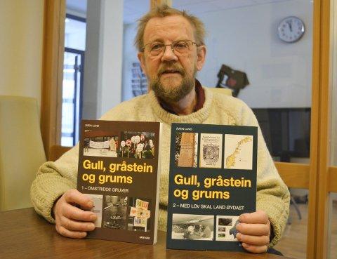 BLIR IKKE RIK PÅ GRUVEDRIFT: Svein Lund er ute med sin andre bok om gruvedriften i Finnmark og Norge. Han forventer ikke at bøkene skal bli noen bestselgere, men Lund håper at bøkene kan bli brukt som oppslagsverk eller en måte å gå tilbake i historien og lese om hvilke konsekvenser gruvedriften har. Ofte er ikke gruvedrift lønnsomt over tid.