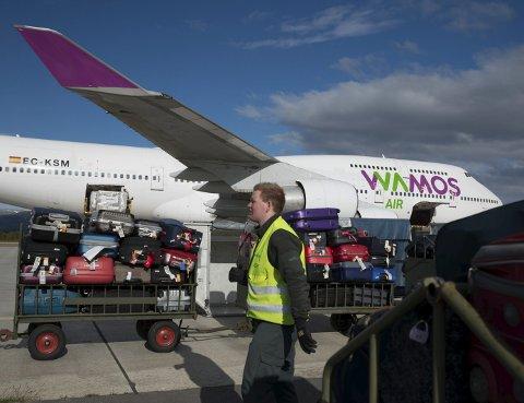 «JUMBOJET»:  Lakselv lufthavn Banak skal fortsatt kunne ta i mot og sende avgårde Boeing 747 «Jumbojet», ifølge Avinor.FOTO: STIAN ELIASSEN