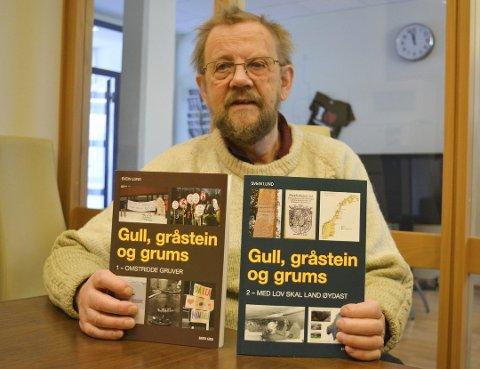 FOR TIDLIG: Svein Lund mener det er 40 år for tidlig å friskmelde Repparfjorden helt.