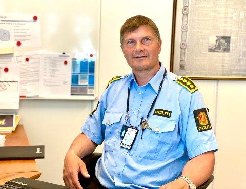 VOLD: Rus eller psykiatri er ofte grunnen til at det blir utøvd vold mot politiet, forteller Frank Sletten.